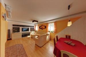 07 - Obývací pokoj s jídelním koutem